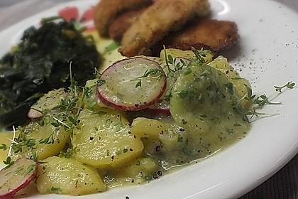 Bayrischer Kartoffelsalat mit Gurke 14