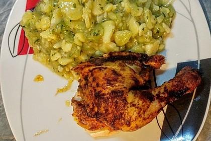 Bayrischer Kartoffelsalat mit Gurke 26