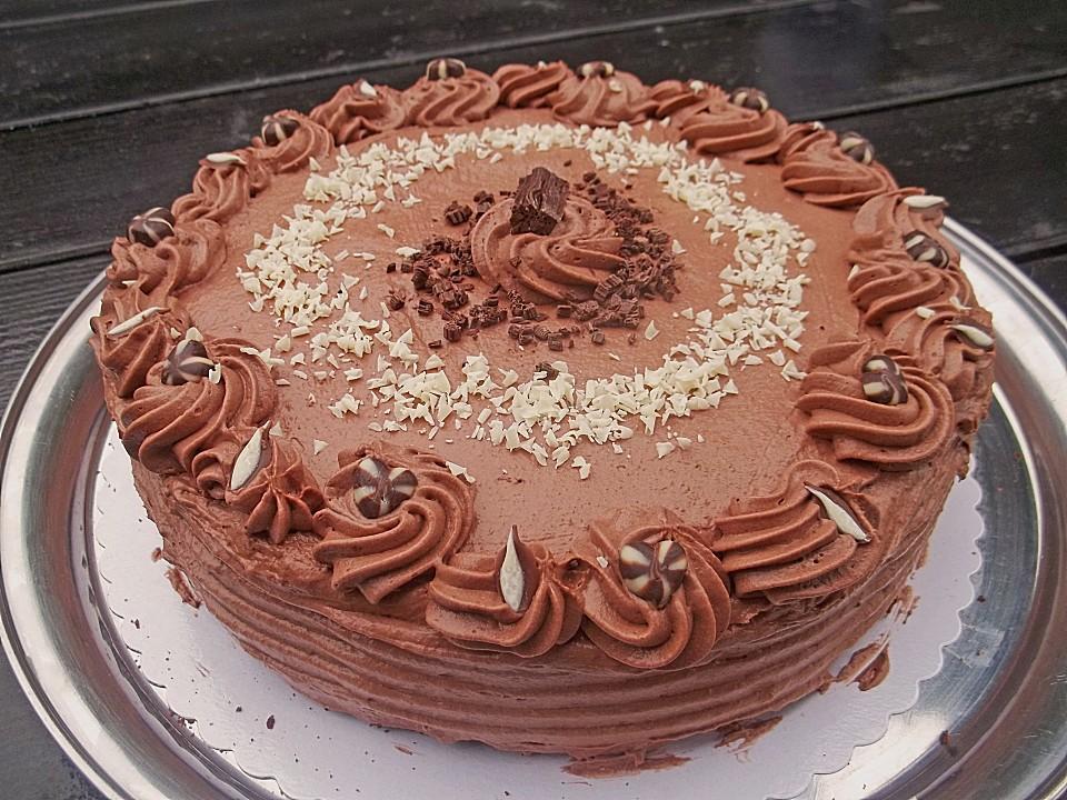 Schokoladen Sahne Torte Von Roswitha 4 Chefkoch De