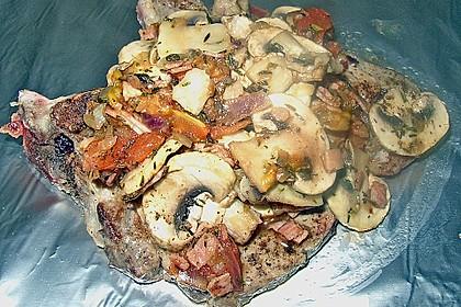Schweinekoteletts in Alufolie