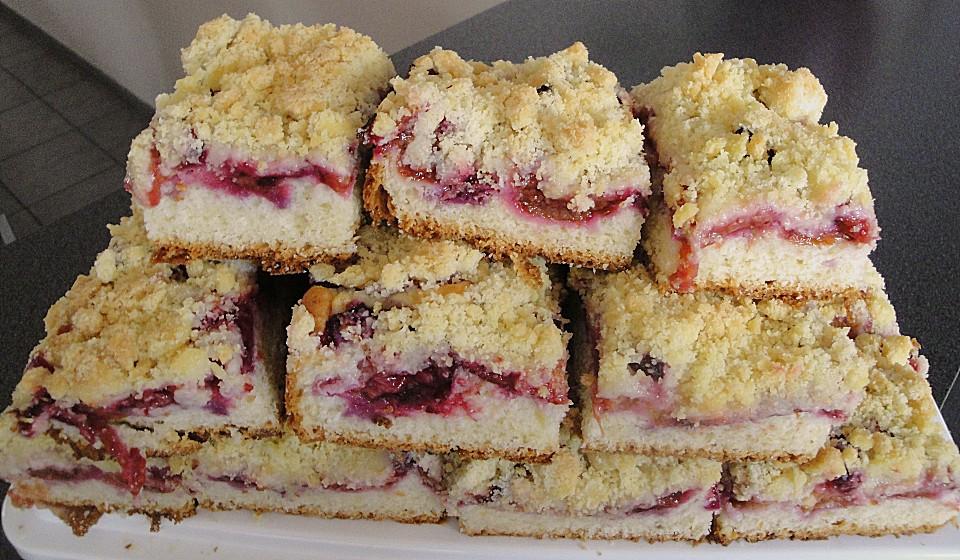 Pflaumenkuchen Mit Quark Ol Teig Von Sissimuc Chefkoch De