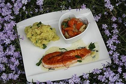 Karotten - Selleriesalat, gekocht 1