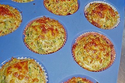Lauch - Schinken - Muffins 4