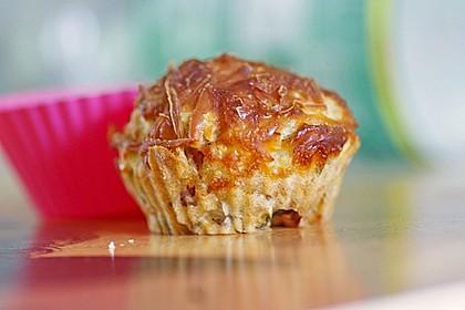 Lauch - Schinken - Muffins 2