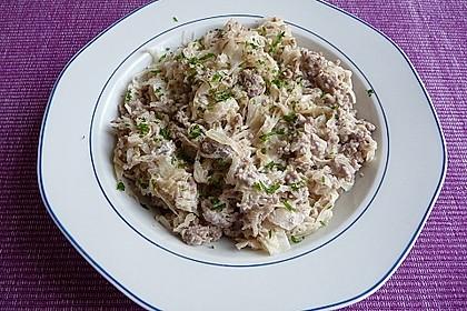 Hack-Sauerkraut-Pfanne 2