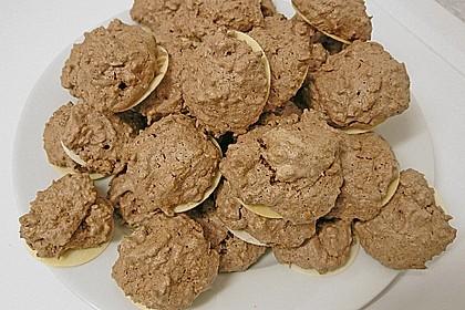 Kokosmakronen mit Kakao 1
