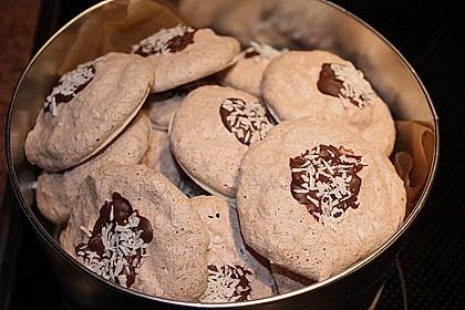 Kokosmakronen mit Kakao
