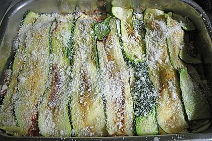 Auberginenauflauf mit Mozzarella 3