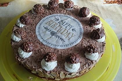 Feine Rocher - Torte 13