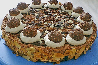 Feine Rocher - Torte 27