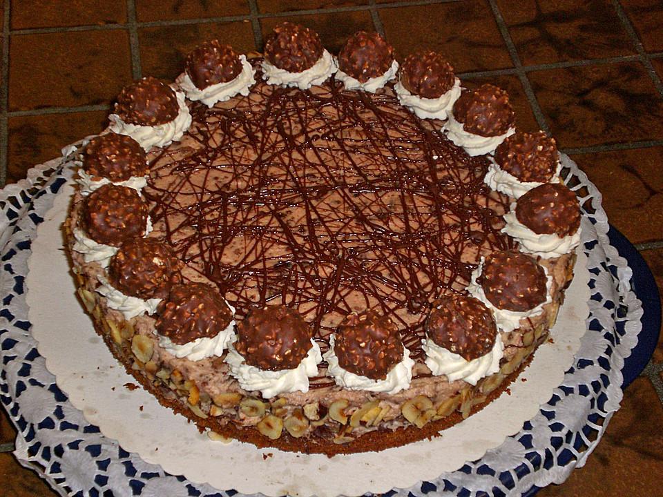 Feine Rocher Torte Von Kleene0408 Chefkoch De