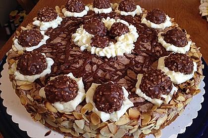 Feine Rocher - Torte 1