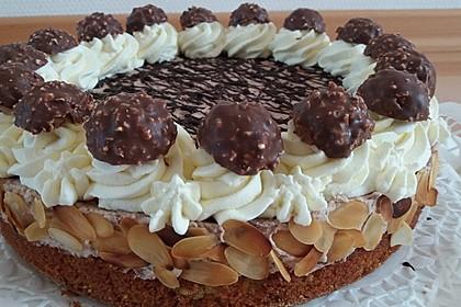 Feine Rocher - Torte 3