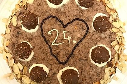 Feine Rocher - Torte 22