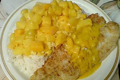 Blitz - Currysauce zu Fisch und Geflügel