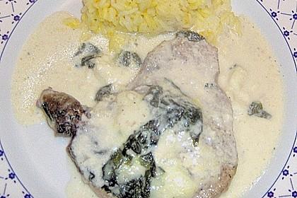 Koteletts mit Bärlauch 5