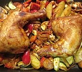 Griechischer Hähnchenauflauf (Bild)