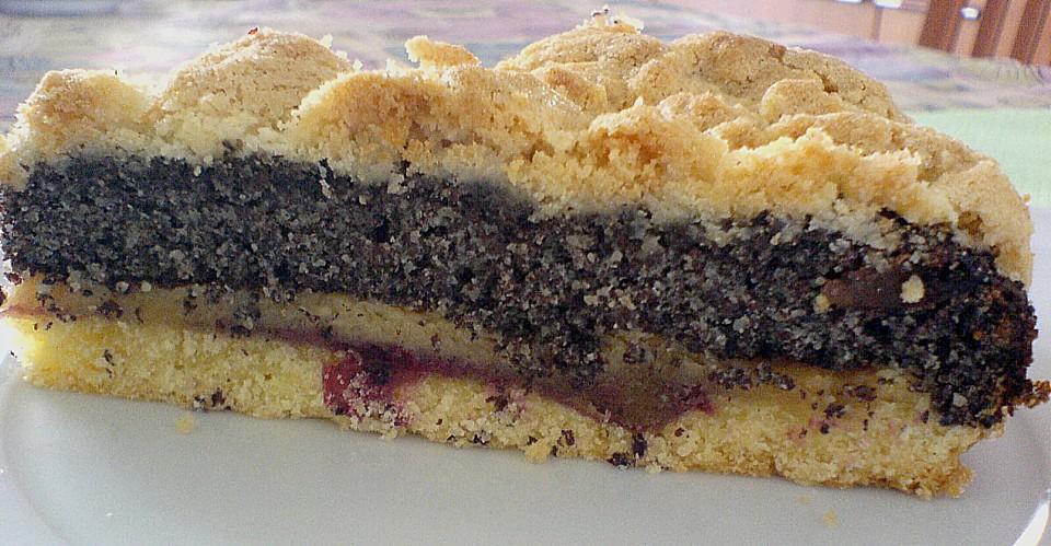 Mohn Marzipan Torte Von Osachs Chefkoch De