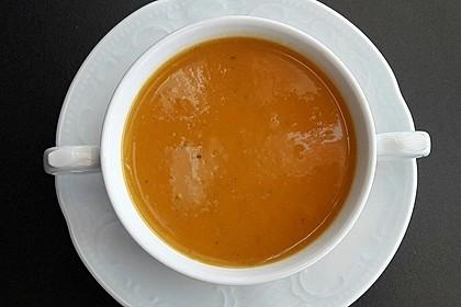 Süßkartoffelsuppe 11