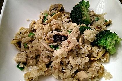 Gebratener Reis mit Tofu und Ei 5