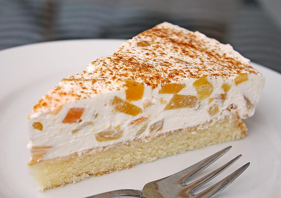 Pfirsich Schmand Kuchen Von Manugro Chefkoch De