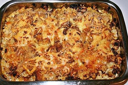 Kartoffel-Pilzpfanne in Tomatenweißweinsauce 1