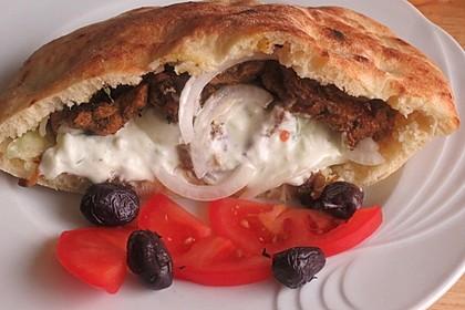 Griechisches Gyros Pita-Brot 1
