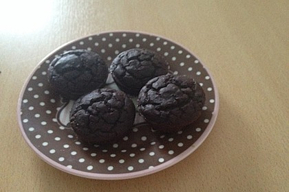 Schnelle Schokomuffins aus Kidneybohnen (Bild)