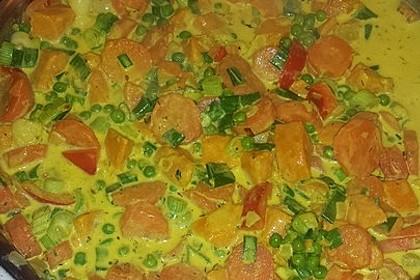 Kartoffel-Gemüse-Pfanne mit Kurkuma