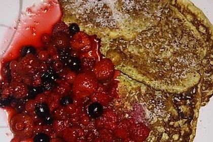 Pfannkuchen mit Chia-Samen 3