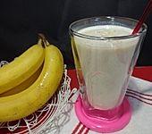 Bananen-Haferflocken Shake (Bild)