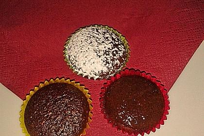 Schokoladige Minimuffins