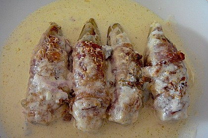 Chicoree mit Parmaschinken und Gorgonzola