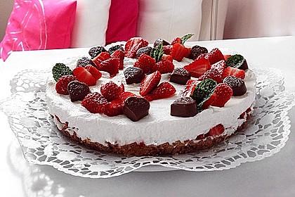 Philadelphia Torte Erdbeer-Schoko 1