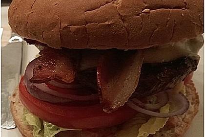 Rotwein-Burger vom Grill 2