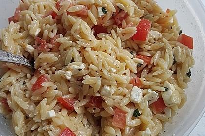 Griechischer Kritharaki-Salat 11