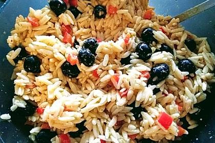 Griechischer Kritharaki-Salat 6