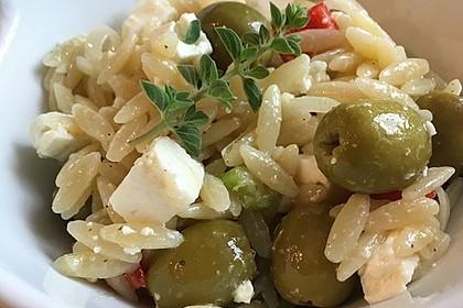 Griechischer Kritharaki-Salat 2