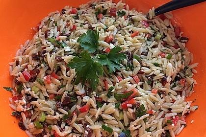 Griechischer Kritharaki-Salat 4