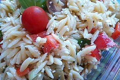 Griechischer Kritharaki-Salat 9