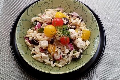 Griechischer Kritharaki-Salat 7