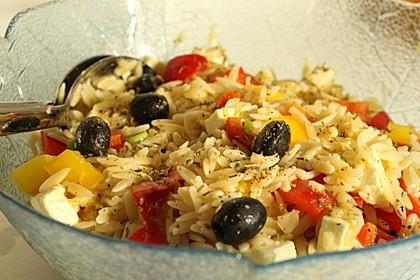 Griechischer Kritharaki-Salat 1
