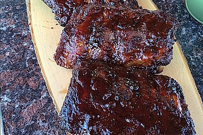Tommys Grilled Baby Back Ribs