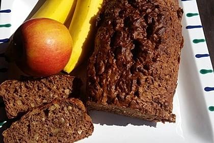 Bananenbrot ohne extra Fett und Zucker 23