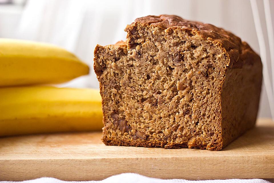 Bananenbrot Ohne Extra Fett Und Zucker Von Maddi2505 Chefkoch De
