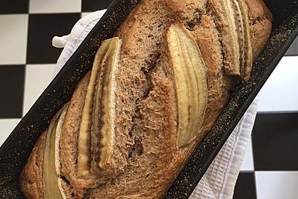 Bananenbrot ohne extra Fett und Zucker 10
