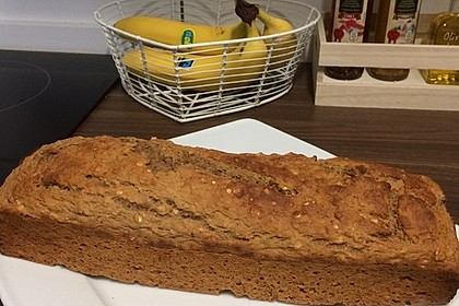 Bananenbrot ohne extra Fett und Zucker 41