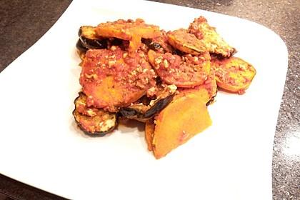 Auberginen-Süßkartoffel Lasagne 1