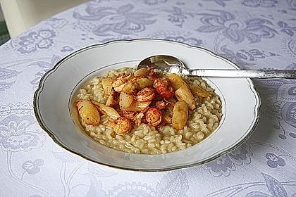 Spargel-Parmesan-Risotto