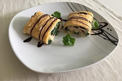 Low Carb Käse-Schinken-Röllchen 1